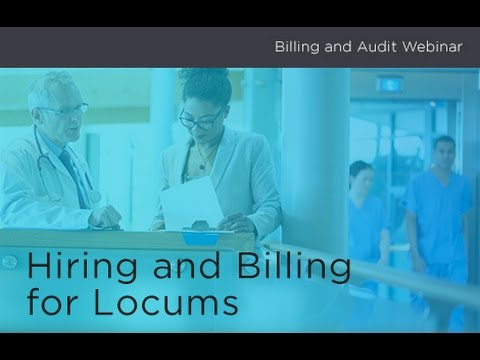 Billing and Audits - Hiring and Billing for Locums