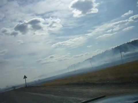 пожар в Татаурово, отстояли