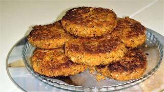 Домашние Котлеты из фасоли, Vicia и..Вегетарианцы берите на заметку. Bean Cutlets, Vicia Vegetarians
