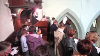 12.05.2013 Kinderschola anlässlich der Firmung in Lorch am Rhein