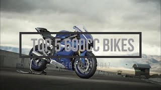 Top 5 600cc Motorcycles 2017 \\ supersport \\ +Top speed!