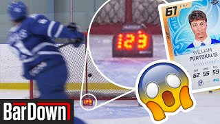 HOW GOOD IS A 61 OVERALL PLAYER IN REAL LIFE? BarDown Hut Card Challenge