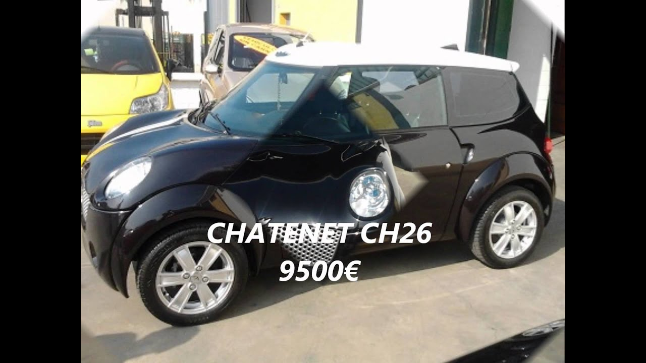 Coches sin carnet youtube for Sofas de 4 plazas baratos
