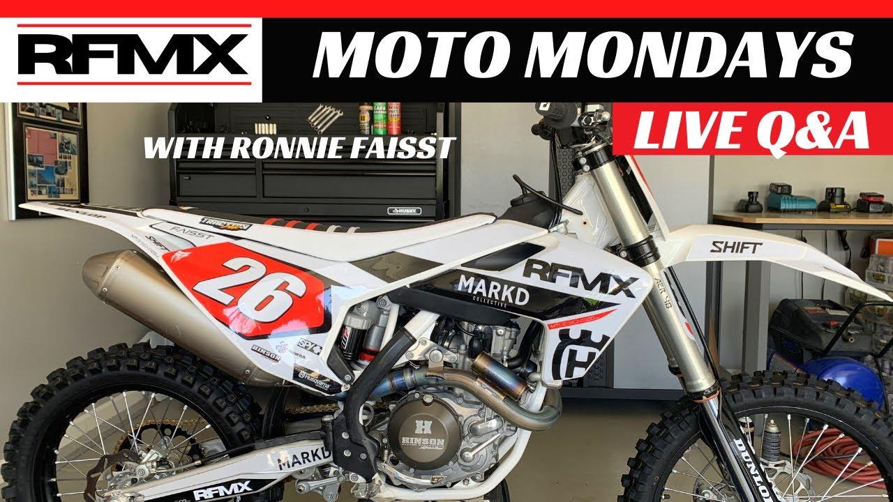 MOTO MONDAYS LIVE WITH RONNIE FAISST