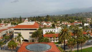 Santa-Barbara, Historic Courthouse and El Pueblo - California 2009