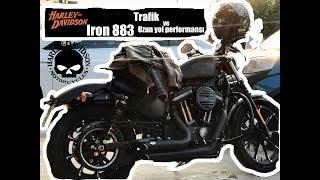 Iron 883- Harley Davidson Trafik ve Uzun Yol Performansı