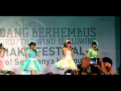 Cuplikan 4 Gulali JKT48 - Jibun Rashisa! Angin Sedang Berhembus HS Event [2015-02-28]