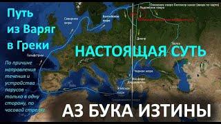 Путь из варяг в греки НАСТОЯЩАЯ СУТЬ Фильм 4 АЗ БУКА ИЗТИНЫ