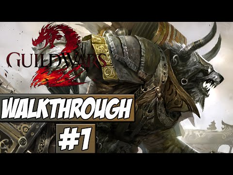 Guild Wars 2 Walkthrough Ep.1 w/Angel – Character Creation!