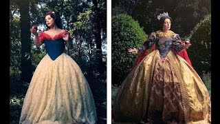 Disney Princesses Reimagined as Queen Mothers!
