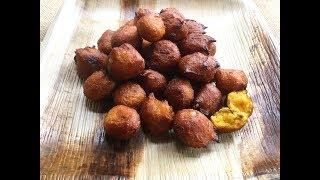 Taler Bora  Bengali Taler Phuluri  Palm Fruit Fritters  Sweet Snack Recipe - In Bengali