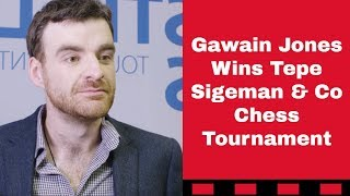The best game of the tournament | Tepe Sigeman & Co 2019 | Tiger Hillarp Persson vs Gawain Jones