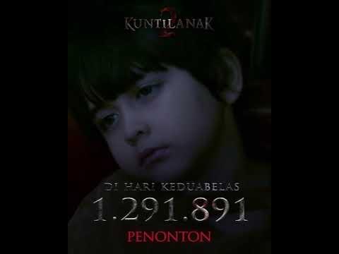 HARI KE 12 !!, #FilmKuntilanak2  Sudah 1.291.891 Juta Penonton !!