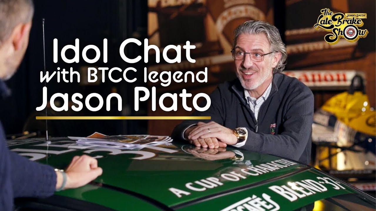 BTCC legend Jason Plato life of cars // The Jonny Smith Late Brake Show
