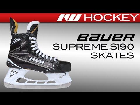 Bauer Supreme S190 Skate Review