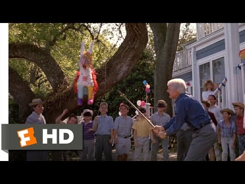 Parenthood (6/12) Movie CLIP - Unbreakable Pinata & a Mouthful of Helium (1989) HD