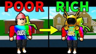 POOR TO RICH (A Roblox Bloxburg Story)