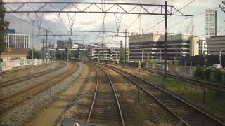 A train driver's view: Alkmaar - Maastricht, VIRM, 05-Aug-2014.