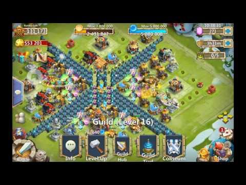 Castle Clash - Epic Guild Rank