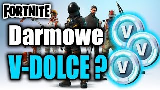 GIVEAWEY ON 10000 IN DOLCÓW | ZGARNIJ DARMOWE IN DOLCE | #fortnite #vdolce