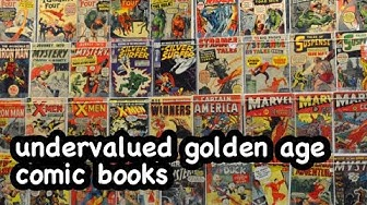 Undervalued Golden Age comic books