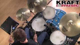 Kraft Music - Roland SPD-SX Sampling Pad Demo with Steve Fisher