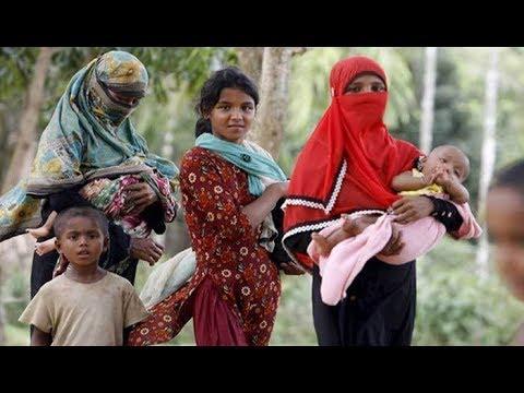 পুনর্বাসন নিয়ে বিভ্রান্তি ছড়ানোয় ভাসানচরে যেতে রাজি নয় রোহিঙ্গারা | Myanmar News | Somoy TV