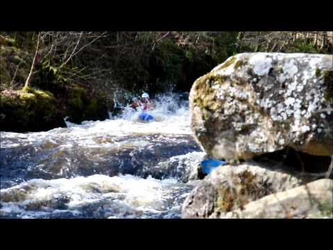 A Sunny Day Kayaking the Afon Tryweryn