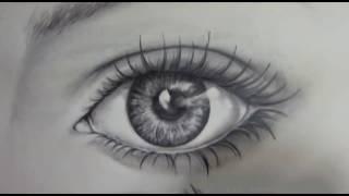 Download Video cara mudah gambar sketch mata realistic dengan pencil MP3 3GP MP4