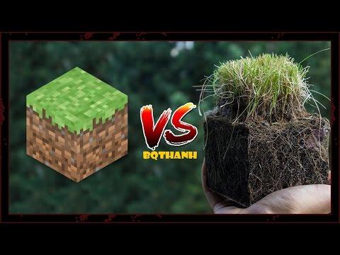 Minecraft với  Ngoài Đời có gì Khác nhau ???