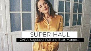 SUPER HAUL OTOÑO | Zara, Subdued, Pull and Bear, Mango...