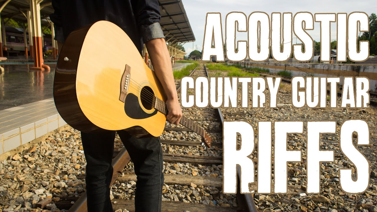 Acoustic Country Guitar Riffs Guitar Lesson Youtube