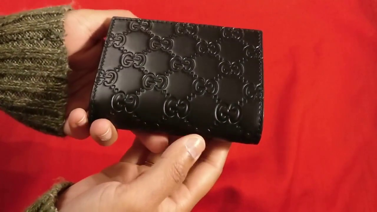 8285db3c74c Just A Look  Gucci Compact Wallet - YouTube