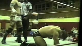 American Wrestling Federation TV  2003  Ron Fargo Vs Al Savage