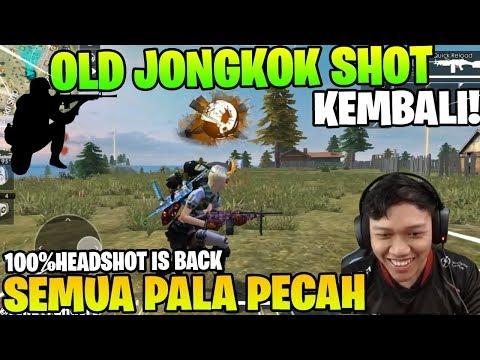 PARAH! JONGKOK SHOT VERSI LAMA KEMBALI LAGI! AUTO HEADSHOT! - Garena Free Fire