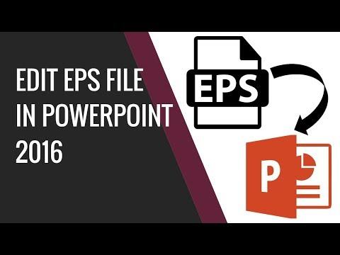 Как вставить вектор в powerpoint