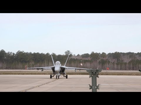VFA-213 returns to Naval Air Station Oceana