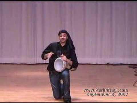 Karim Nagi : Hip Hop Fallahi : Drum-Dance on Tabla (doumbek)