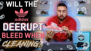 Will The Adidas Deerupt Bleed When Cleaning? The Best way to clean with Reshoevn8r
