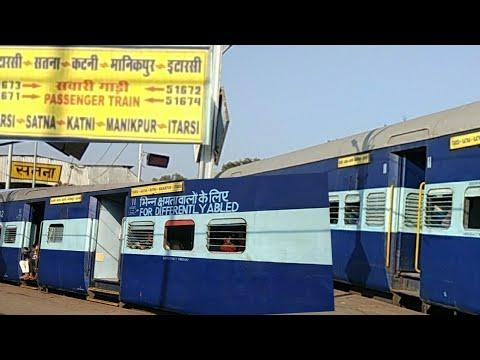 ITARSI -SATNA -KATNI -MANIKPUR ITARSI PASSENGER TRAIN With New Built Deendayal Coaches