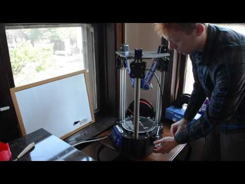 How to Change Filament on Seemecnc Orion 3D Printer
