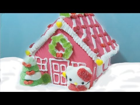 Hello Kitty Christmas Cookie House