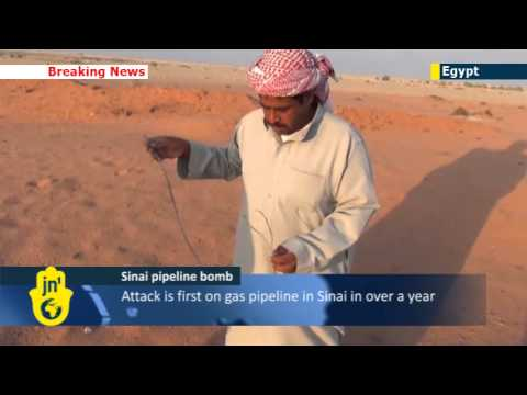 Sinai Islamist Instability: militants bomb Egyptian gas pipeline to Jordan as violence continues