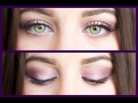 how to make green eyes pop purple edition youtube