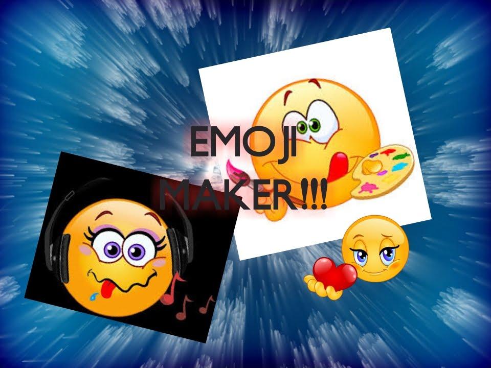 EMOJI MAKER! // EMOJI CRACK FOR ANDROID - YouTube