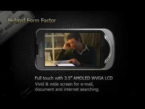 Samsung B7610 demo video