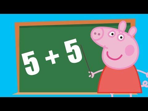 Peppa Pig, Sumas con Caramelos, aprende a sumar con Peppa Pig, Aprende a Sumar, Suma hasta el 10