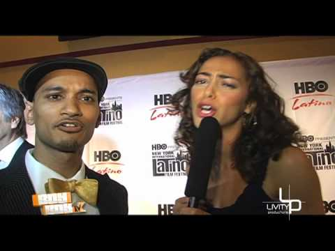 HBO Red Carpet Series Premire PROFUGOS Host BOY BOY With Actress Elena Goode