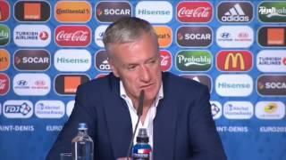 رئيس فرنسا يستقبل منتخب بلاده بعد نيل وصافة كأس اوروبا