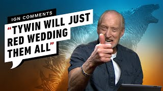 Charles Dance Responds to Godzilla IGN Comments